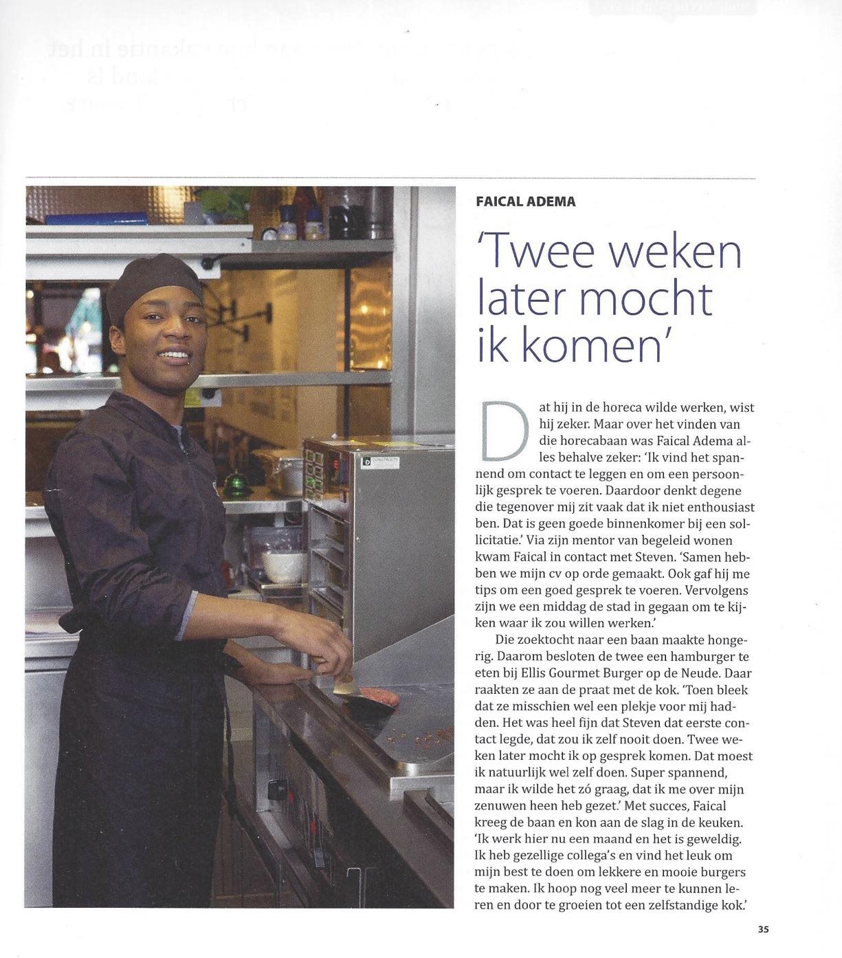 Scan artikel Rabobank Utrecht Works 2
